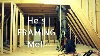 #16 He's Framing Me! : A-FRAME House Build