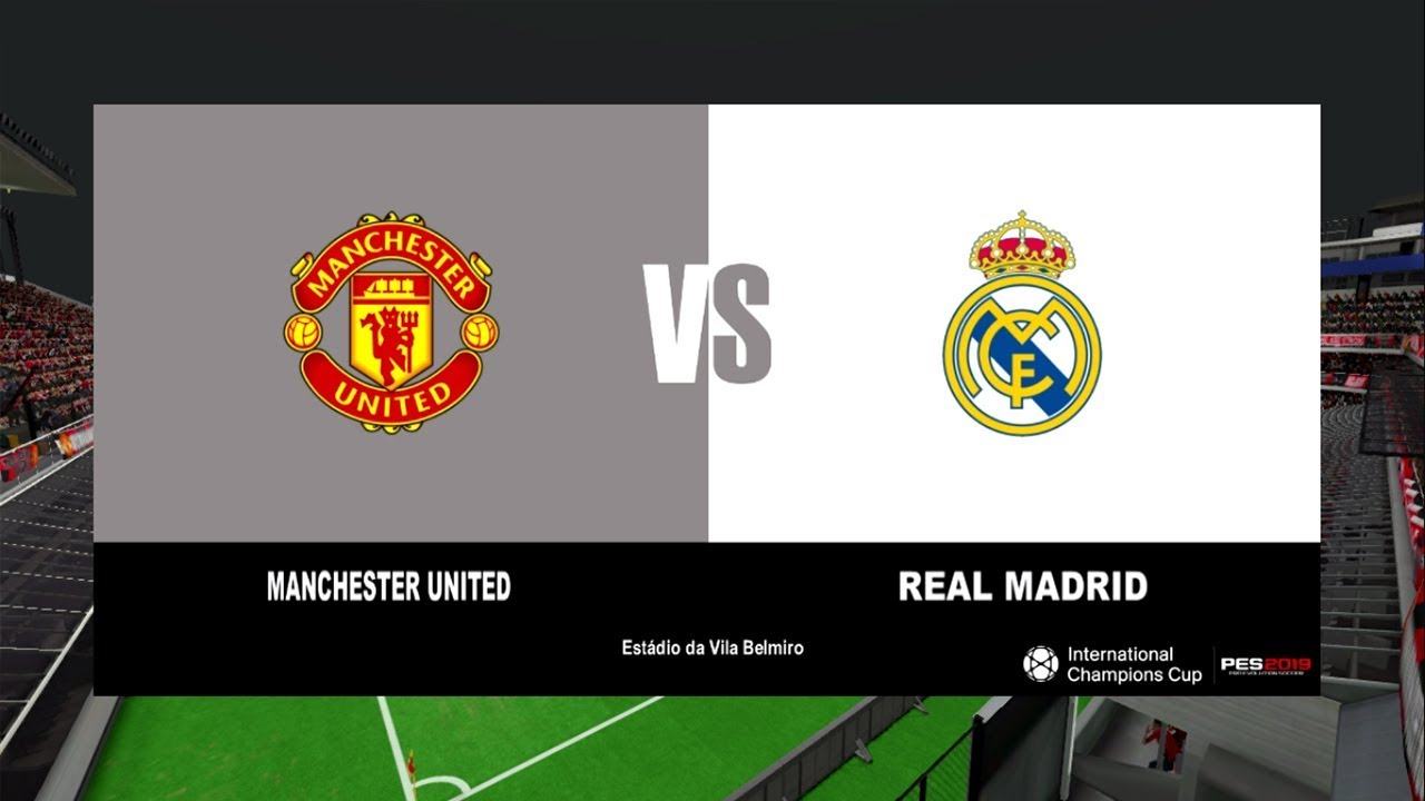 Manchester United Vs Real Madrid International Champions Cup
