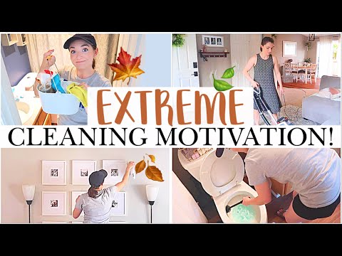 PREP FOR FALL! 🍂 Clean With Me 2019 💪 EXTREME CLEANING MOTIVATION | Birthday Party Prep