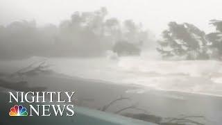Irma  Major Flooding Along Florida's East Coast   NBC Nightly News