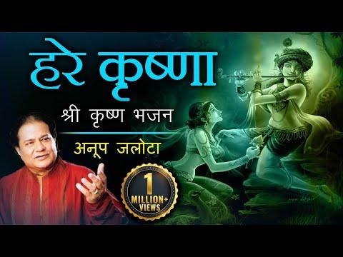 || हरे कृष्णा || श्री कृष्ण भजन अनूप जलोटाजी के आवाज़ में | हिंदी भजन्स thumbnail