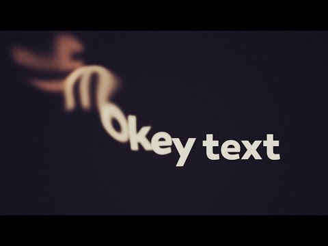 Smoke Text Transition Tutorial for After Effects