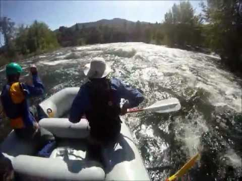 Whitewater rafting on the Wenatchee with Alpine Adventures - May 12-13, 2012