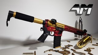 APS ASR 121 GOLD DRAGON / Airsoft Unboxing / Review