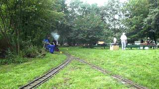 Dampfbahn Leverkusen September Fahrtage 2011 (HD) (03:18)