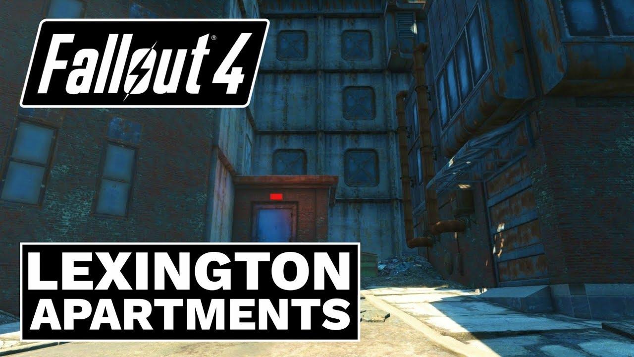 Fallout 4 - Lexington Apartments - YouTube