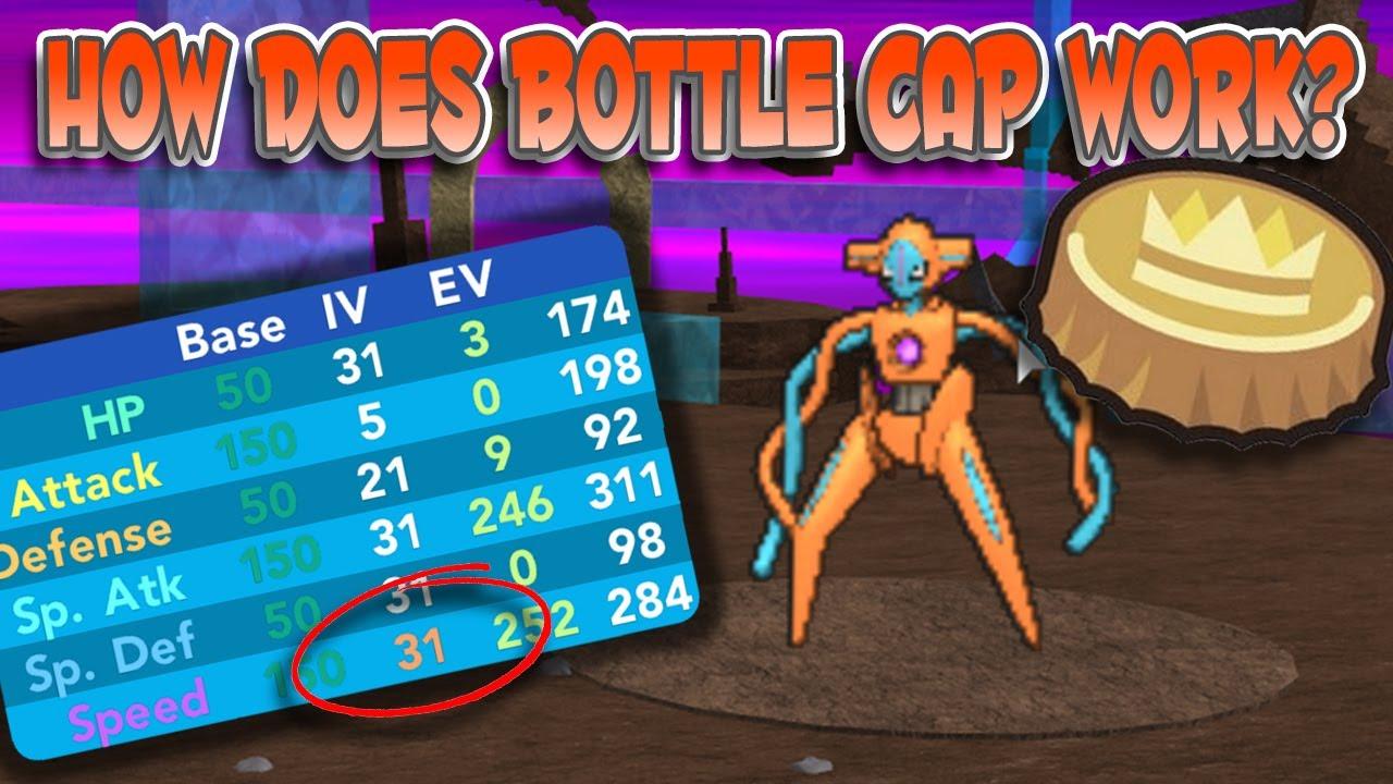 HOW TO USE BOTTLE CAPS! - Pokemon Brick Bronze - YouTube