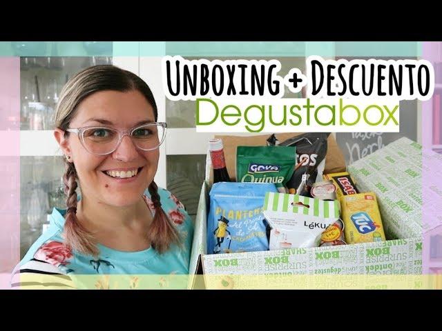 UNBOXING DEGUSTABOX Julio 2018 + Descuento | Aperitivos fáciles y rápidos