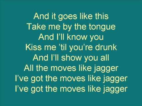 moves like jagger lyrics maroon 5