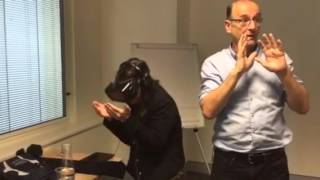 Trying out the Virtual Reality Oculus Rift (Developer Kit)