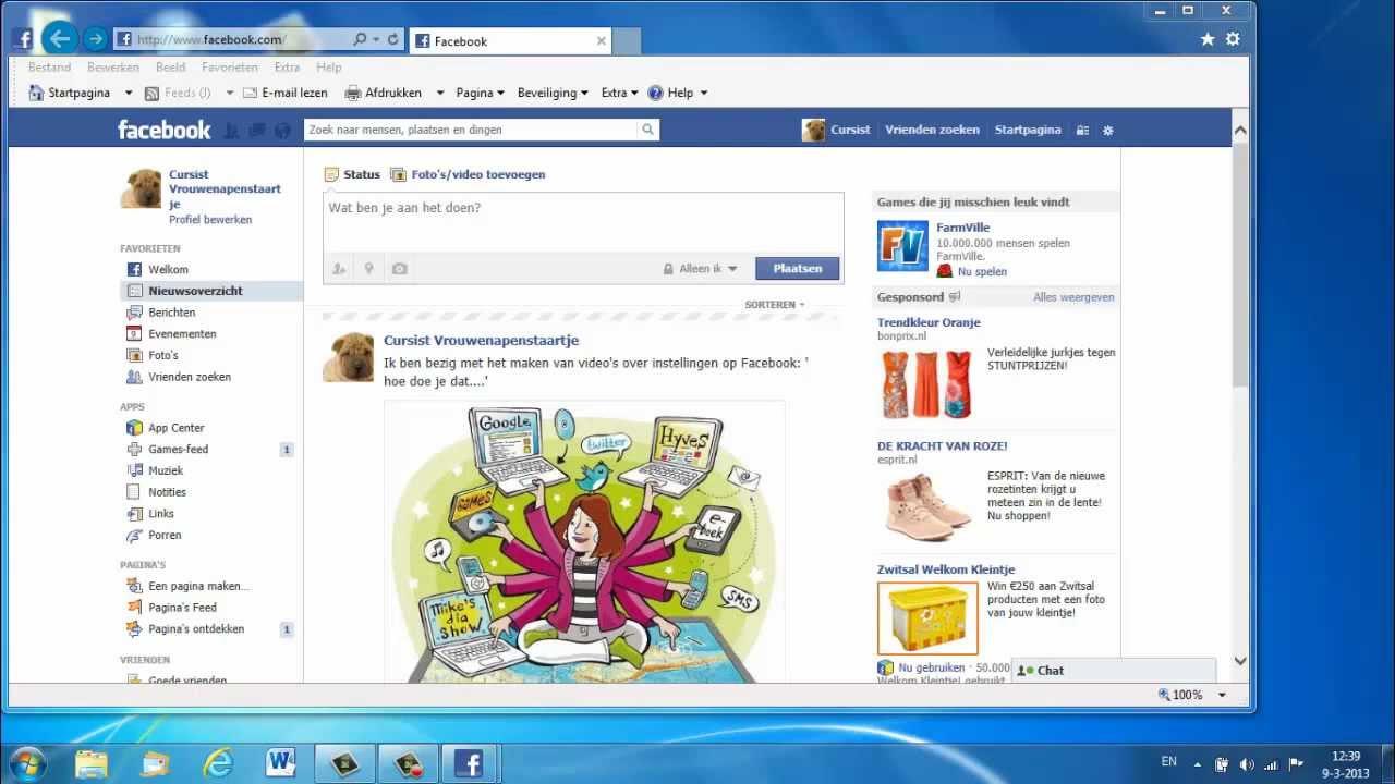Aanmelden bij Facebook vereenvoudigen - YouTube