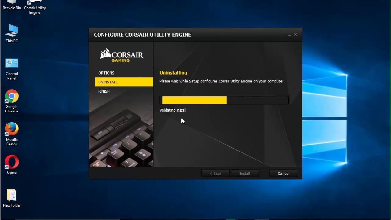 manually uninstall program windows 10