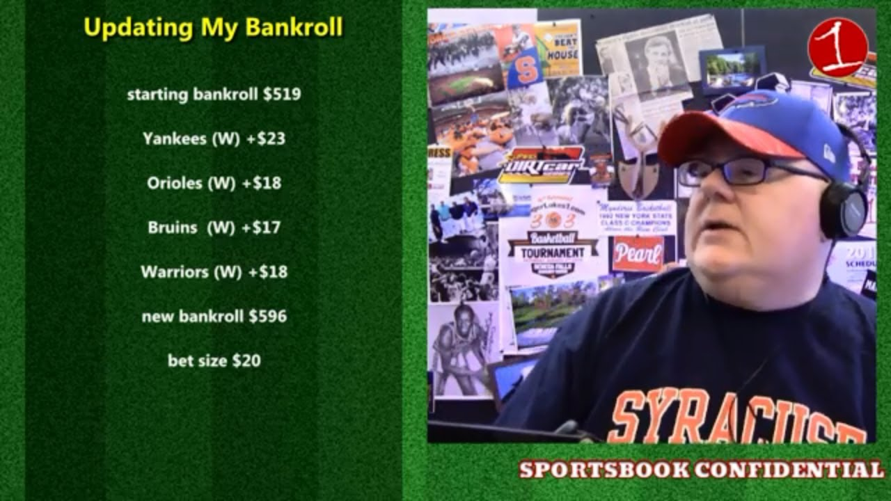 What is in-game betting & NYS updates .::. John Sullivan's Sportsbook Confidential 6/7/19