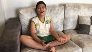 كليب كامل لطفل صغير معجزة يغني لتامر حسني عمري ابتدا