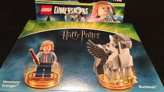 hermione fun pack harry potter lego dimensions unboxing building