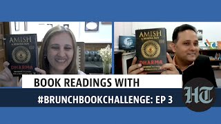 Book readings with #BrunchBookChallenge: Amish Tripathi and Bhavna Roy
