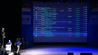 acm icpc world finals 2014 closing ceremony