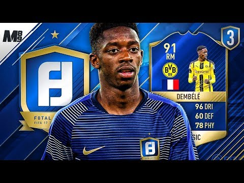 F8TAL TOTS DEMBELE | MASSIVE NEW SIGNINGS! | FIFA 17 ULTIMATE TEAM #3