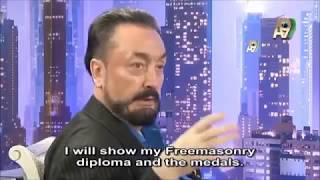 Harun Yahya (Adnan Oktar) is a 33rd Degree Freemason (Grandmaster) Video