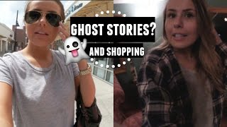 DAY 3&4: GOING INSIDE THE ASYLUM?, SHOPPING, ALLERGIES & GHOST STORIES
