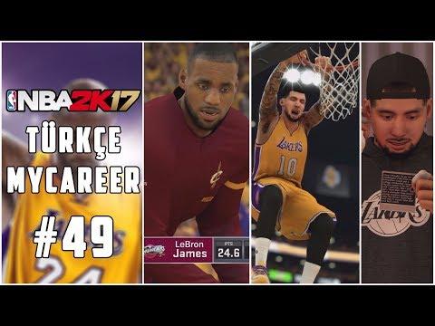 Türkçe NBA 2K17 MyCAREER #49 | ŞAMPİYONLUK MAÇI, SEZON FİNALİ ve YENİ TAKIM!!!