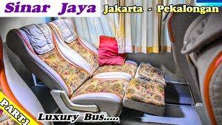 "Naik Bis Sinar Jaya ""TERNYAMAN"" di Kelasnya | Trip Report Bus SDD Sinar Jaya Jakarta-Pekalongan"