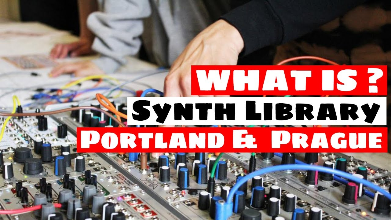 What Is The Synth Library Portland & Prague? Interview!