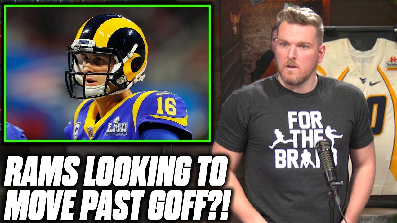 Download Pat McAfee Reacts To Rams Eyeing A Trade For Jared Goff