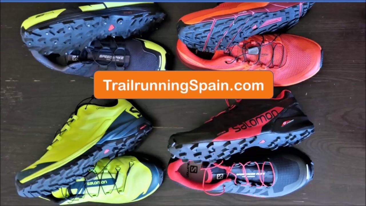 3712fd1c458 Salomon Running shoes  Highlights Winter 2017 on trails mud