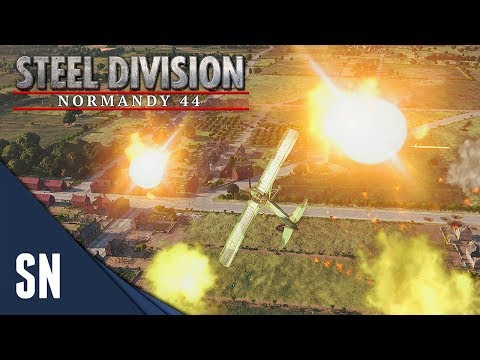 Luftwaffe Entrance! - Steel Division: Normandy 44 Gameplay #37