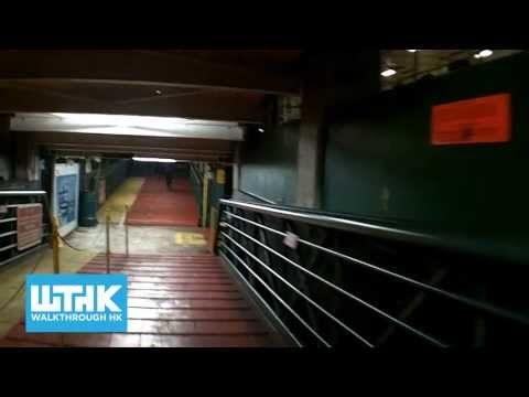 How to take the Star Ferry Tsim Sha Tsui to Central and walk to Central station - Walkthrough HK