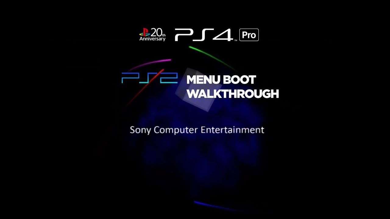 Playstation 2 Intro Menu Dashboard RealTime boot sequence comparisons (HD)