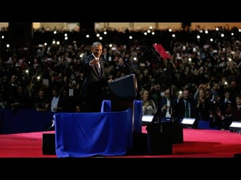 Obama on Transferring Power Peacefully to Donald Trump