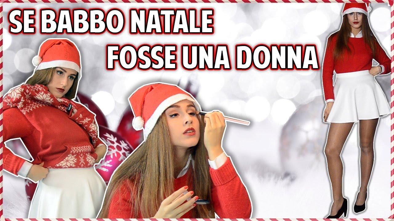Foto Di Natale Con Donne.Se Babbo Natale Fosse Una Donna
