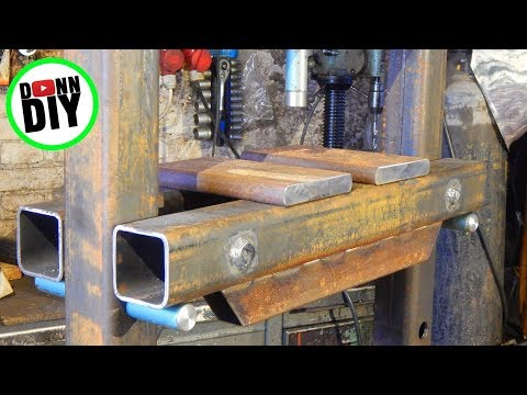 Thumbnail: DIY 30 Ton Hydraulic Shop Press