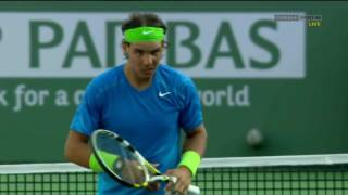 Nadal vs Nalbandian   Indian Wells 2012 1080p