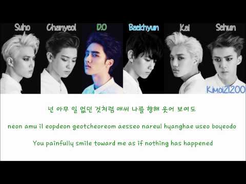 EXO-K - Moonlight (월광) [Hangul/Romanization/English] Color & Picture Coded HD