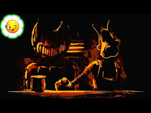 Boris And The Dark Survival #1  Волк Борис VS Чернильный Демон! Заброшенная студия: День 1