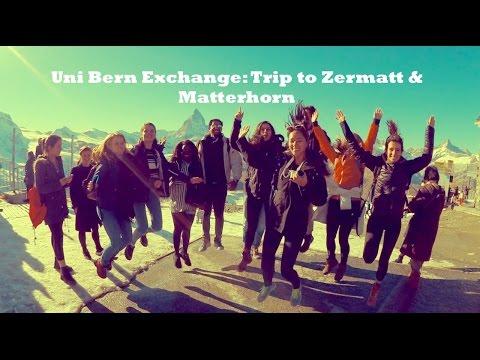 Uni Bern Exchange: Trip to Zermatt, Matterhorn