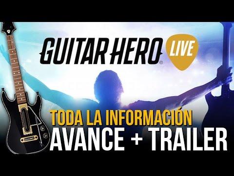GUITAR HERO LIVE: Avance y trailer - Toda la información