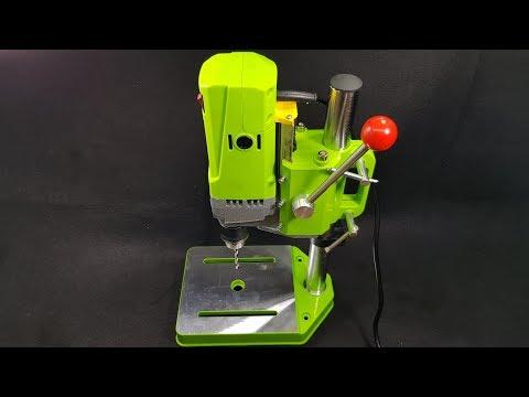 Test mini bench drill press MINIQ - For DIY Wood Metal