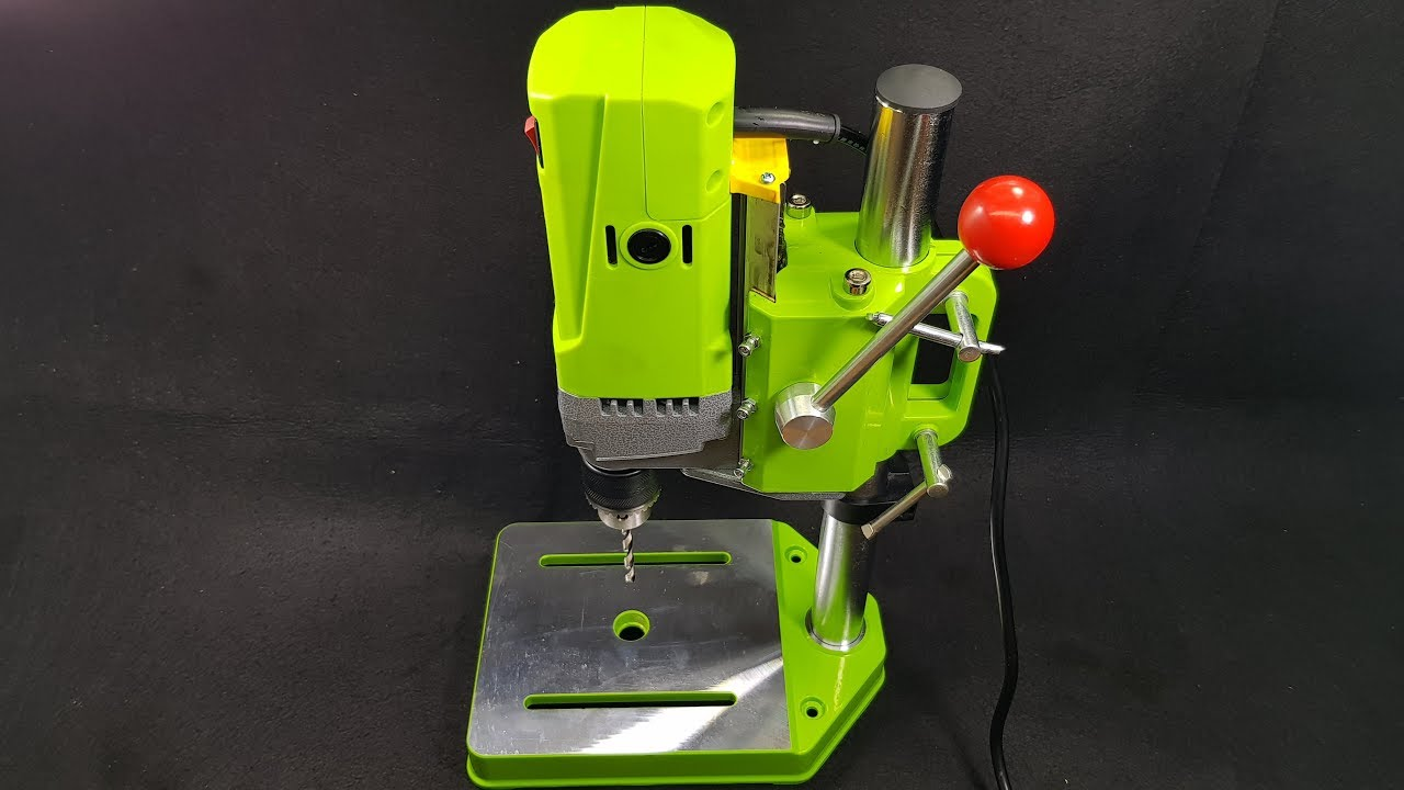 Test Mini Bench Drill Press Miniq For Diy Wood Metal
