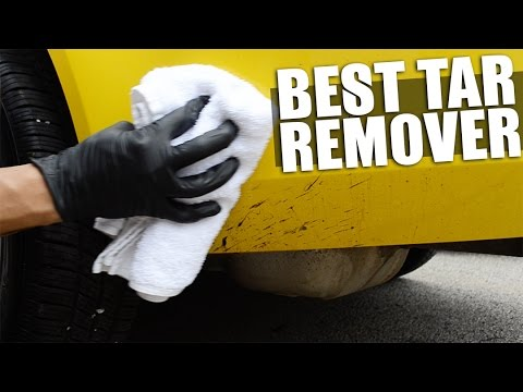 How To Remove Tar From Paint On Car