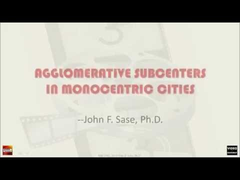 (AT) Urban Economic Model: Monocentric City with Agglomerati