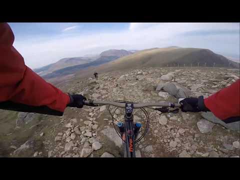 Snowdon MTB Rangers Path 30.04.2017