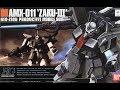 Bandai Gunpla High Grade 1/144 Zaku III (UC/ZZ Gundam) Review の動画、YouTube動…