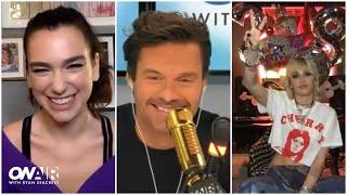 Miley Cyrus & Dua Lipa Talk 'Prisoner'   On Air With Ryan Seacrest