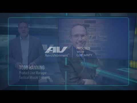AeroVironment Family of Loitering Missile Systems  Virtual Press Briefing