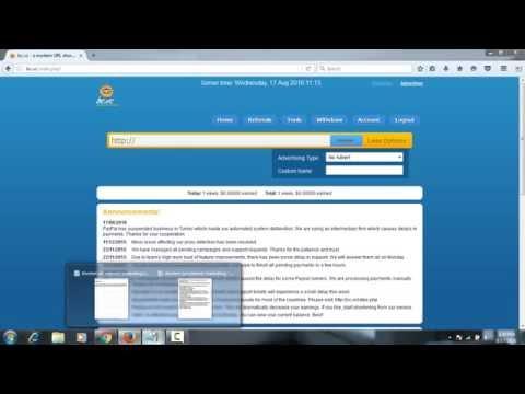 Shorten URL by bc.vc to earn money : Amazing internet marketing tool