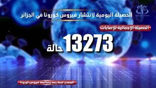 حصيلة انتشار فيروس كورونا في الجزائر 28جوان2020